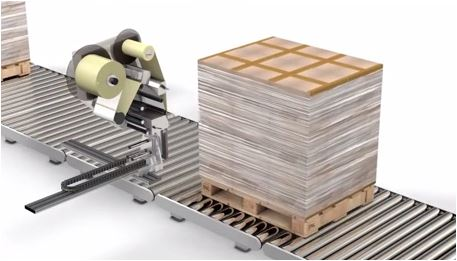 Print and apply Pallet Labeller