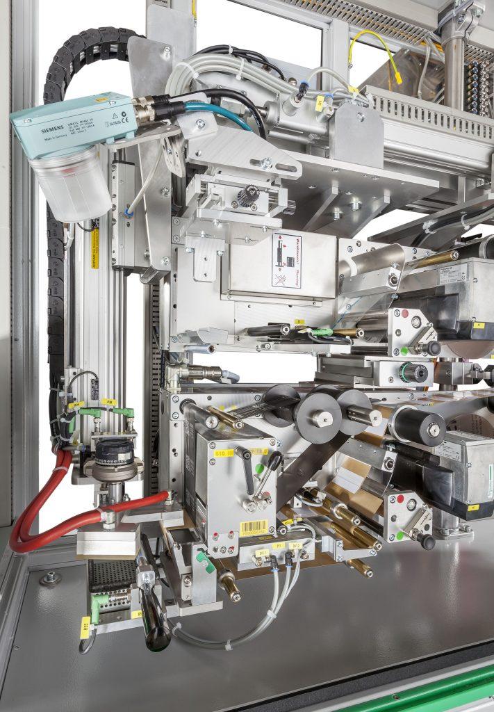 custom built print and apply machine